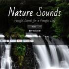 【オススメ】『雨の音・波の音・川のせせらぎ・鳥のさえずり』をエンドレスに流してくれるウェブサイト『 Nature Sounds 』