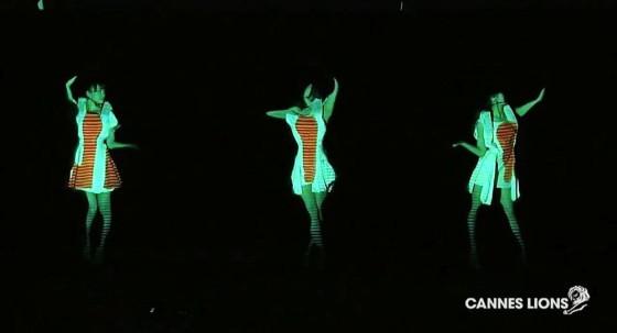 カンヌ広告祭サイバー部門で、Perfumeの海外向けウェブサイトが銀賞を受賞4