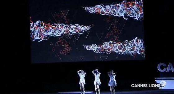 カンヌ広告祭サイバー部門で、Perfumeの海外向けウェブサイトが銀賞を受賞7