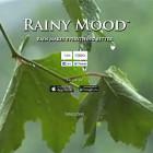 【オススメ】雨音と遠くで鳴り響く雷の音をエンドレスで流してくれる、聞いているとリラックスできるウェブサイト『 Rainy Mood 』