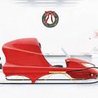 【動画】サンタクロースの乗るソリも、新調の際は是非HONDA販売店へ!HONDAなら最新機能搭載のソリもご用意できますよ!というCM動画『 Santa's New Sleigh 』
