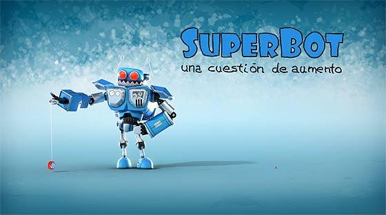 虫めがねで覗くたびに大きくなっていく生物に恐れおののくロボットを描いた3DCGアニメーション『SuperBot-A magnifying mess』1