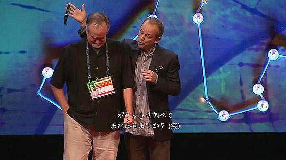 何度見ても分からない?!世界最高の天才スリ師アポロ・ロビンス氏の妙技が素晴らしいTEDでの講演6