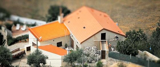 全てがミニチュアサイズに見えて、とても可愛い!ポルトガルののどかな風景をチルトシフトで撮影した映像『 The Village 』4