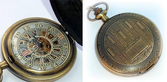 UmbrellaLaboratoryの作るスチームパンクな懐中時計やネックレスが恰好良い1