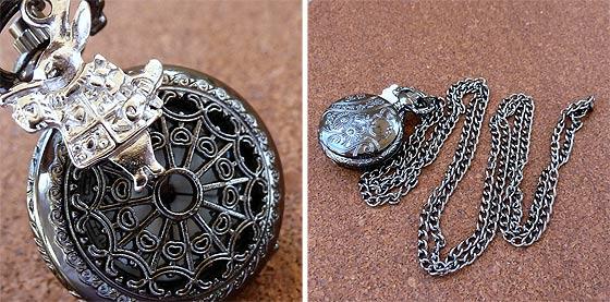 UmbrellaLaboratoryの作るスチームパンクな懐中時計やネックレスが恰好良い10