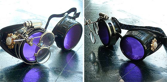 UmbrellaLaboratoryの作るスチームパンクな懐中時計やネックレスが恰好良い11