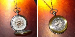 UmbrellaLaboratoryの作るスチームパンクな懐中時計やネックレスが恰好良い8