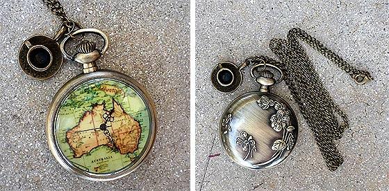 UmbrellaLaboratoryの作るスチームパンクな懐中時計やネックレスが恰好良い9