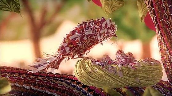 布で描いた世界の美しい WARDE のCM動画 『 HOME IS A QUEST 』6