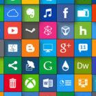 【素材】これだけあれば大丈夫?!フラットデザインに似合うSNSアイコンなどが配布中 『35 Beautiful Free Flat Icons Sets that You can Use』