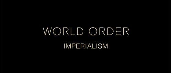 【PV】須藤元気氏のWORLD ORDERのニューシングル『IMPERIALISM』がリリースされています